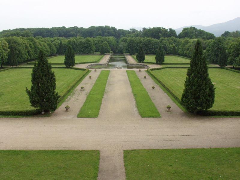 Holešov, zámecká zahrada